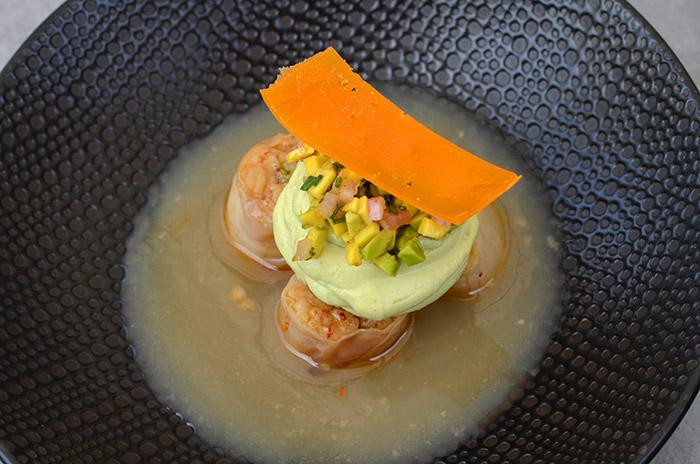 Restaurant Osmoz - plat - Restaurant