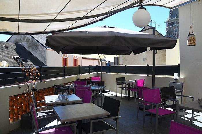 Restaurant Osmoz - terrasse - Restaurant