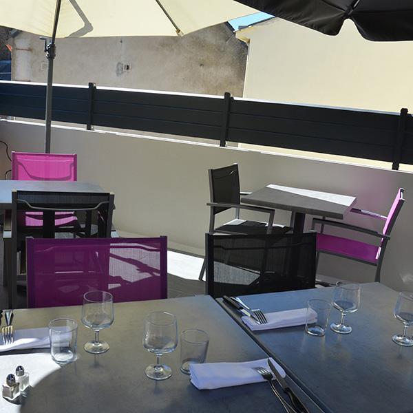 Restaurant Osmoz - terrasse