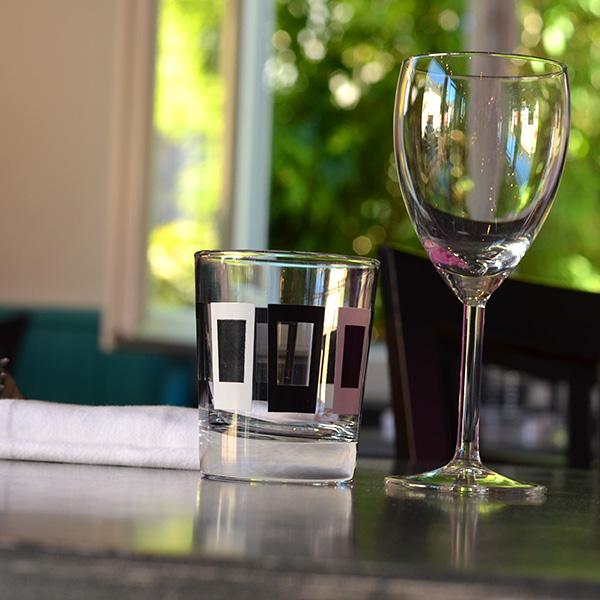 Restaurant Osmoz - verres